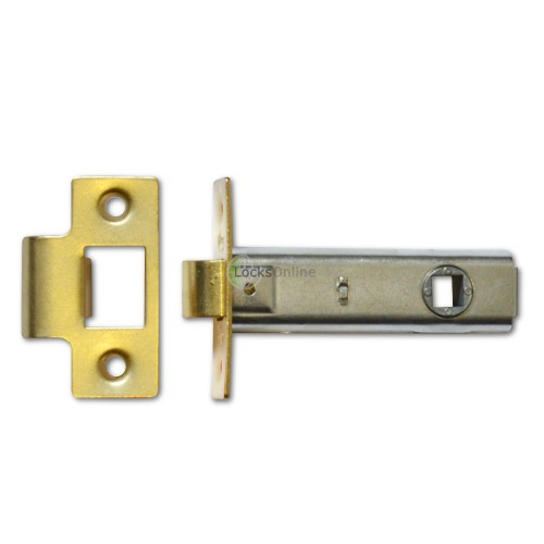 Main photo of Budget Tubular Latch with Adjustable Strike Plate