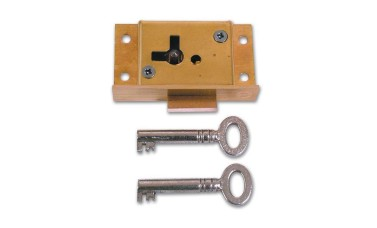 Asec No 61 4 Lever Cut Cupboard Lock