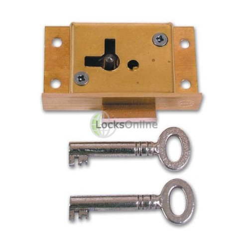 Main photo of Asec No 61 4 Lever Cut Cupboard Lock