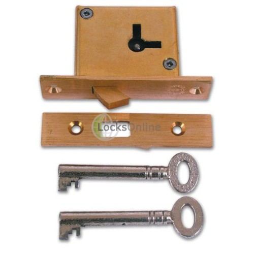 Main photo of Asec No 85 4 Lever Hookbolt Mortice Cupboard Lock