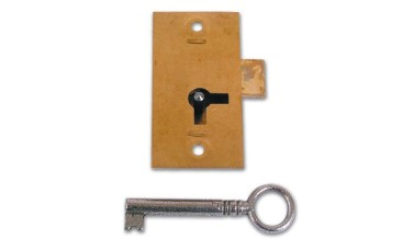 Aldridge No. 100 1 Lever Straight Cupboard Lock