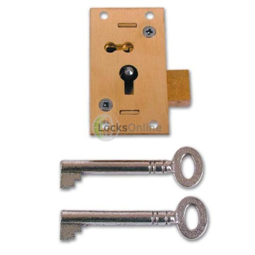 Main photo of Asec No 51 4 Lever Straight Cupboard Lock