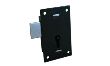 Asec 1 Lever Straight Cupboard Lock