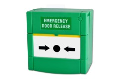 Resettable 'Push Glass' Emergency Call Point Unit