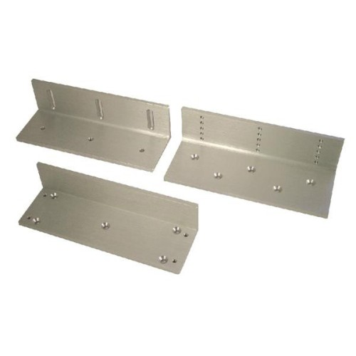 Main photo of Asec Z and L brackets for electronic magnetic gate locks