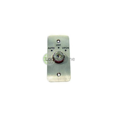 Main photo of Asec Three Position Key Switch Engraved