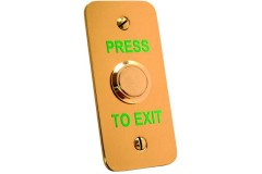 Asec Brass Narrow Style Exit Button