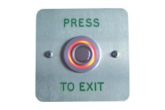 Asec Halo Effect Press to Exit Button Red / Green