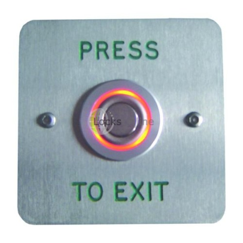 Main photo of Asec Halo Effect Press to Exit Button Red / Green
