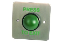 Asec Green Dome Exit Button