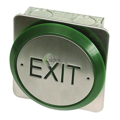 Main photo of Asec All Active Small Push Plate Exit Button