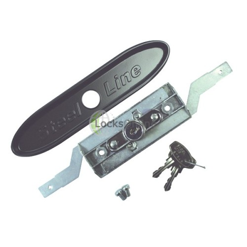 Main photo of STEEL-LINE SLINE0010 Inline Steel Roller Garage Door Lock