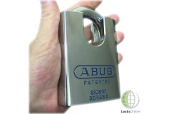 Abus 80mm CEN-6 Hardened Steel Closed Shackle Padlock