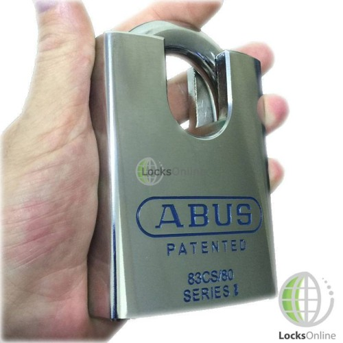 Main photo of Abus 80mm CEN-6 Hardened Steel Closed Shackle Padlock
