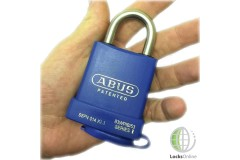 Abus Marine Weatherproof Stainless Steel Open-Shackle Padlock