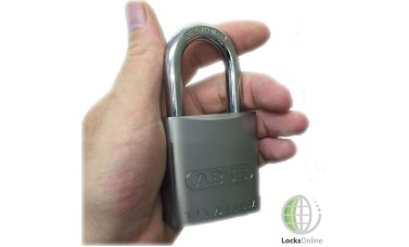 Abus Aluminium Alloy Padlock with Hardened Steel Shackle