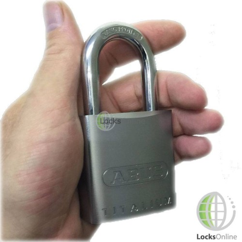 Main photo of Abus Aluminium Alloy Padlock with Hardened Steel Shackle