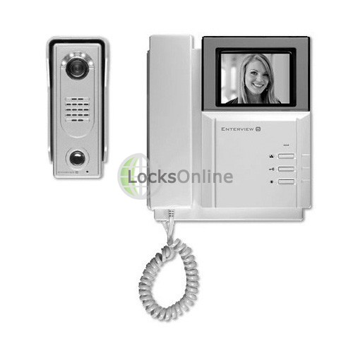 Main photo of Enterview 5 Black & White Video Door Intercom