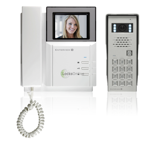 Main photo of Enterview 5K Colour Video Door Entry System with Keypad