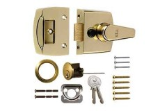 Rim Deadlocking Cylinder Night Latches