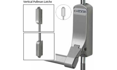Exidor 311 Single Panic Bolt with Vertical Catches
