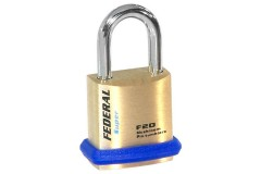 Federal 20F Solid Brass Padlock