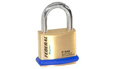 Federal 30F Solid Brass Padlocks