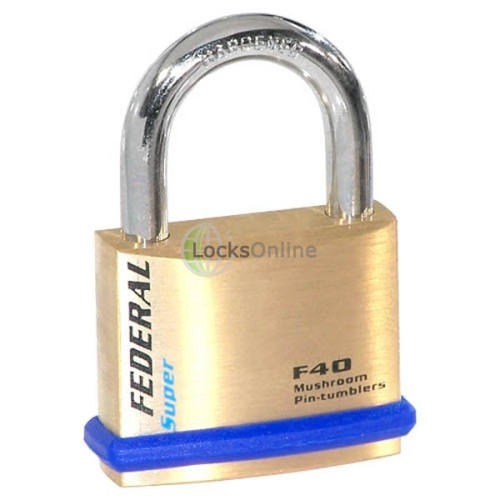 Main photo of Federal 40F Solid Brass Padlocks