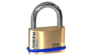 Federal 60F Solid Brass Padlocks