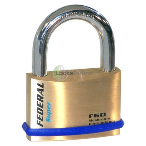 Main photo of Federal 60F Solid Brass Padlocks