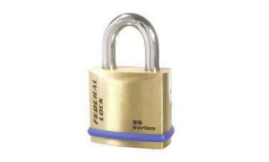Federal 720 B Series Solid Brass Padlock