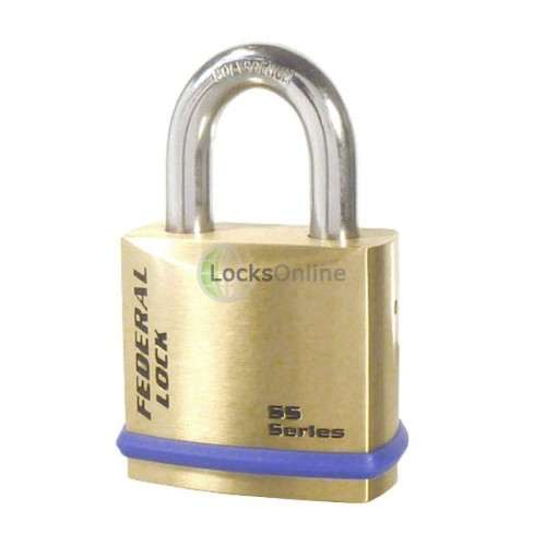 Main photo of Federal 720 B Series Solid Brass Padlock
