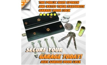 Asec Garage Door Bolt Lock