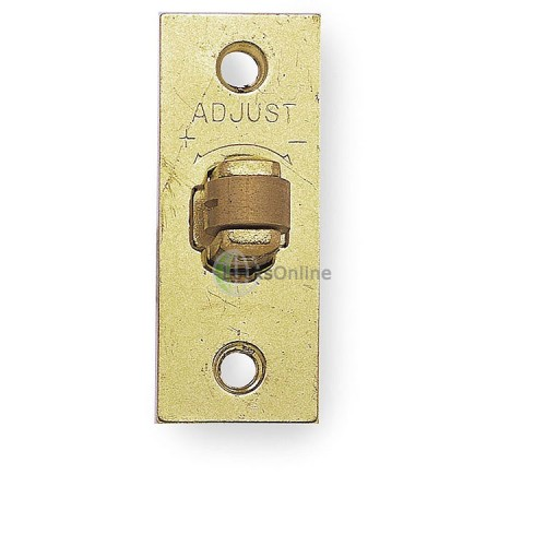 Main photo of Jedo adjustable roller bolt with solid brass roller