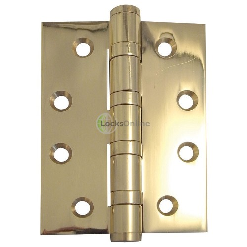 Main photo of Jedo brass 4 ball bearing hinge