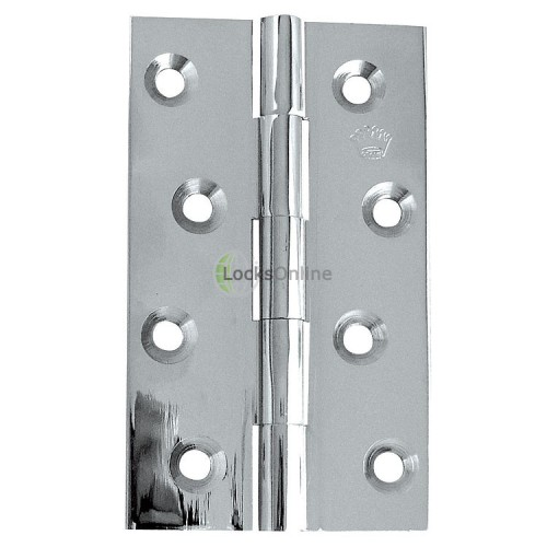 Main photo of Jedo polished chrome solid drawn hinge