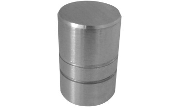 Knob Brushed Stainless Steel