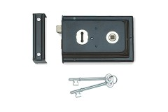 Jedo Rim Sash Lock - Reversible Latch