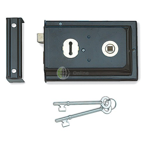 Main photo of Jedo Rim Sash Lock - Reversible Latch