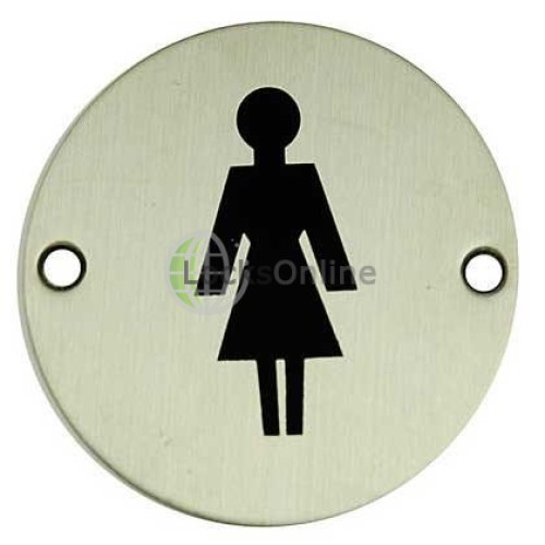Main photo of Jedo Female  symbol Toilet Sign