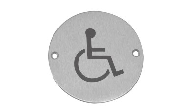 Jedo Disabled symbol Toilet Sign
