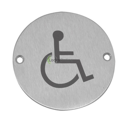 Main photo of Jedo Disabled symbol Toilet Sign