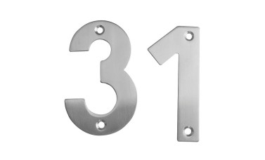 Stainless Steel Screw Fix Numerals