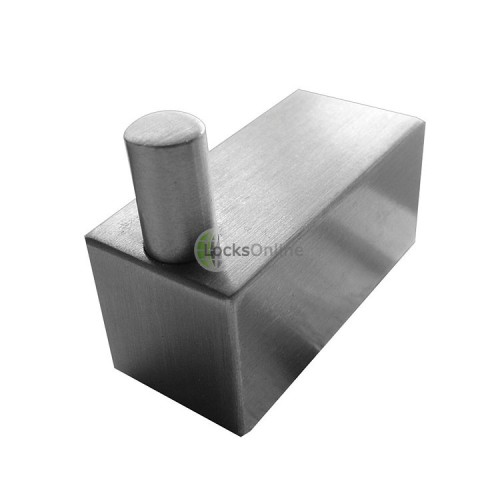 Main photo of Jedo Stainless Steel Square Robe Hook