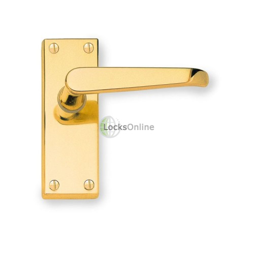 Main photo of Jedo Victorian Latch Type Door Handles