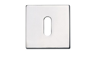 Jedo Standard Key Shaped Square Escutcheons