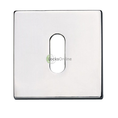 Main photo of Jedo Standard Key Shaped Square Escutcheons