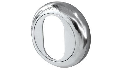 Jedo Beveled Oval Shaped Escutcheons