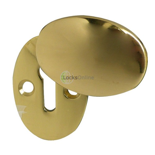 Main photo of Jedo Oval Covered Escutcheon