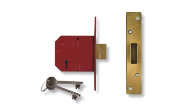 Union 2134 5 Lever Dead Lock Keyed Alike